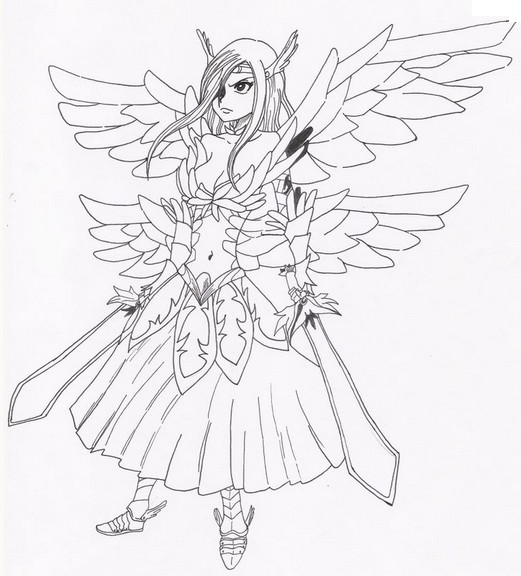 Jeu dessin colorier fairy tail - Fairy tail coloriage ...