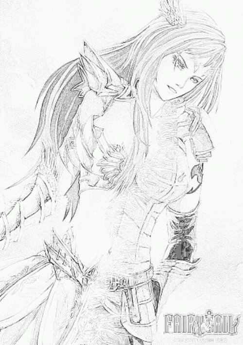 Dessin colorier fairy tail lucy - Dessin fairy tail ...