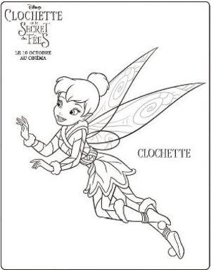18 dessins de coloriage f e clochette et ses amies imprimer - Fee clochette et ses copines ...
