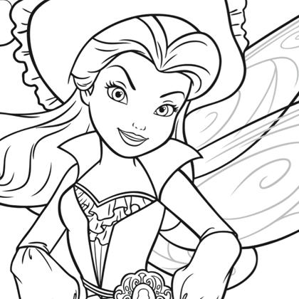 20 dessins de coloriage f e en ligne imprimer - Dessin fee clochette gratuit ...