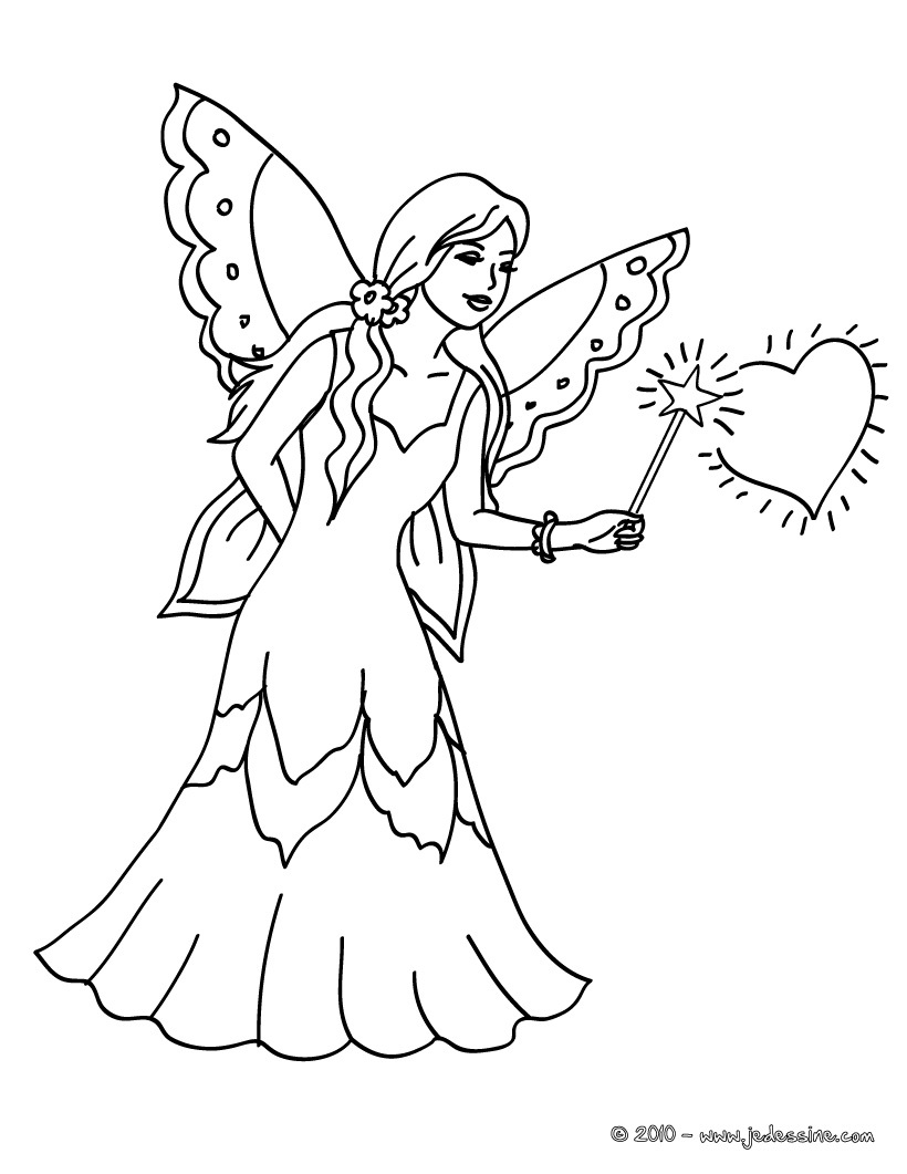 Dessin barbie fee magique - Coloriage barbie fee ...