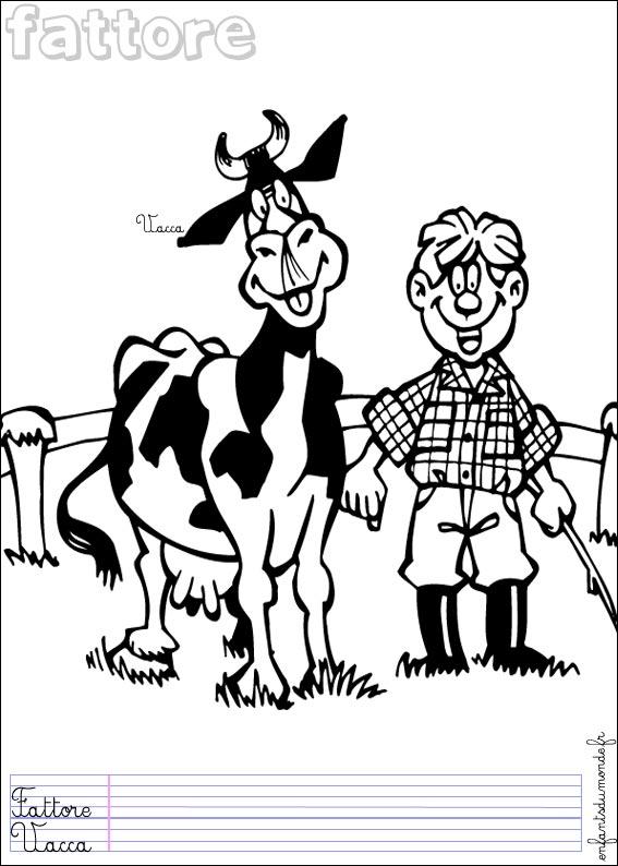 17 dessins de coloriage fermier imprimer - Coloriage de fermier ...