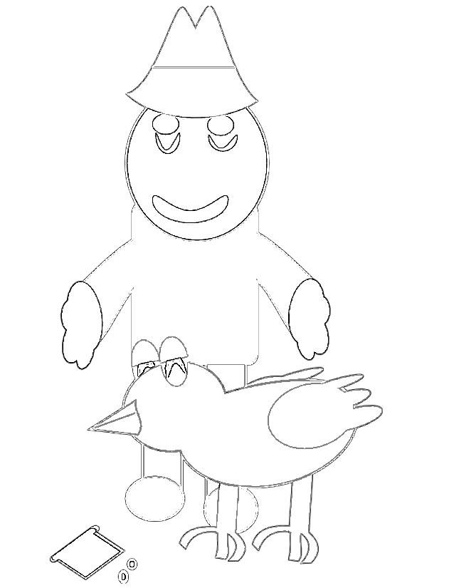 dessin fermier et fermière
