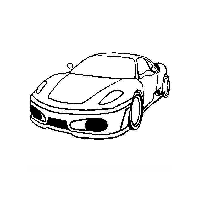 Dessin Ferrari Facile