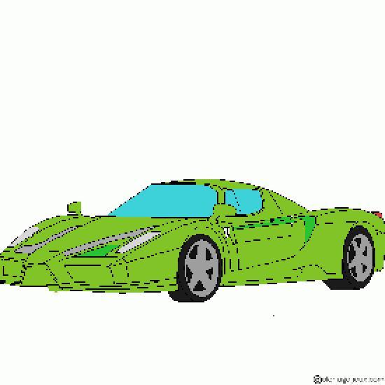 Coloriage Ferrari 458 Italia Imprimer