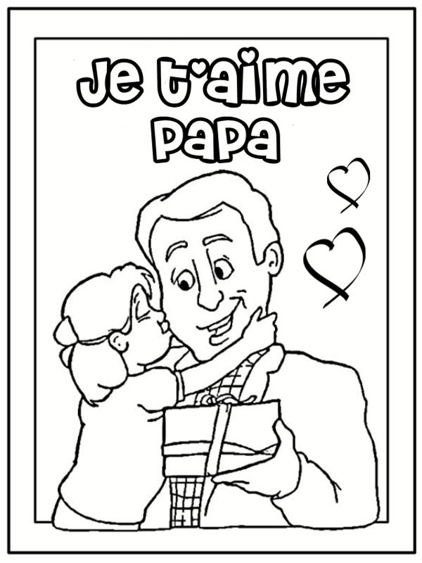 bb035ac96fbb 95 dessins de coloriage Fête Des Pères 2011 à imprimer