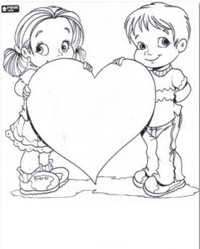 dessin � colorier gratuit pour la f�te des pères