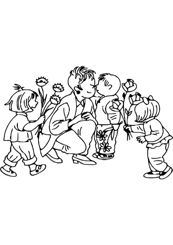 dessin d'une fête