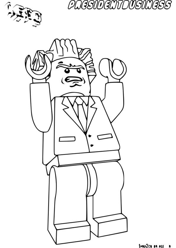 dessin à colorier du film lol
