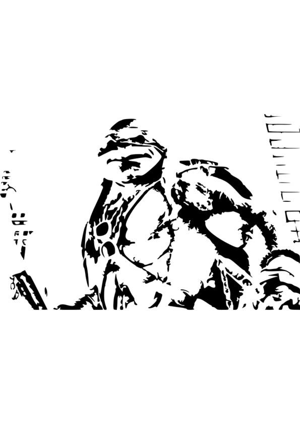 dessin à imprimer film rio