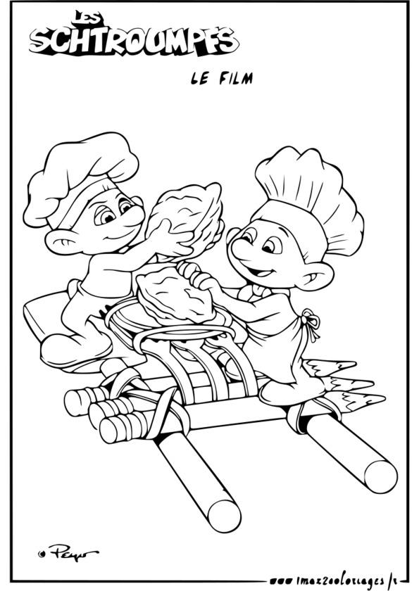 dessin à colorier marsupilami le film