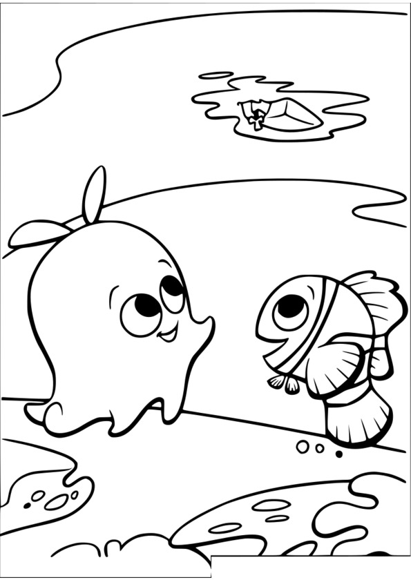dessin à colorier marsupilami film