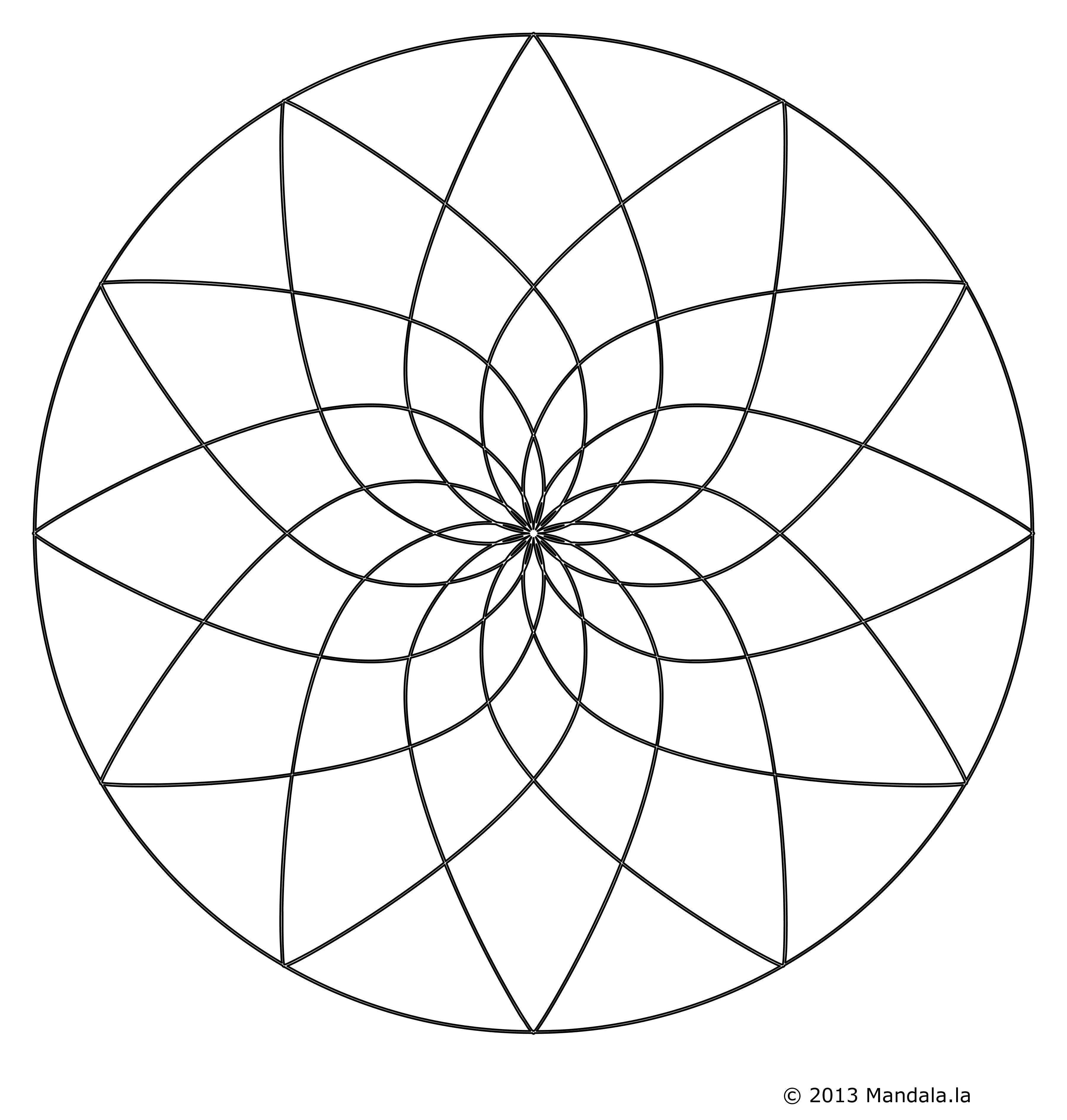 Dessin Fleur De Lotus A Imprimer