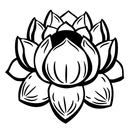 89 dessins de coloriage fleur de lotus imprimer. Black Bedroom Furniture Sets. Home Design Ideas