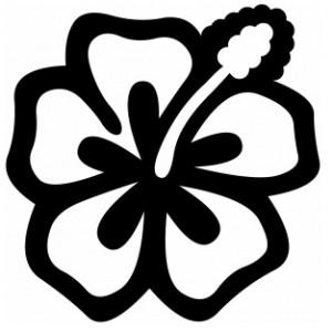 95 dessins de coloriage fleur de tiar imprimer - Photo de fleur a dessiner ...