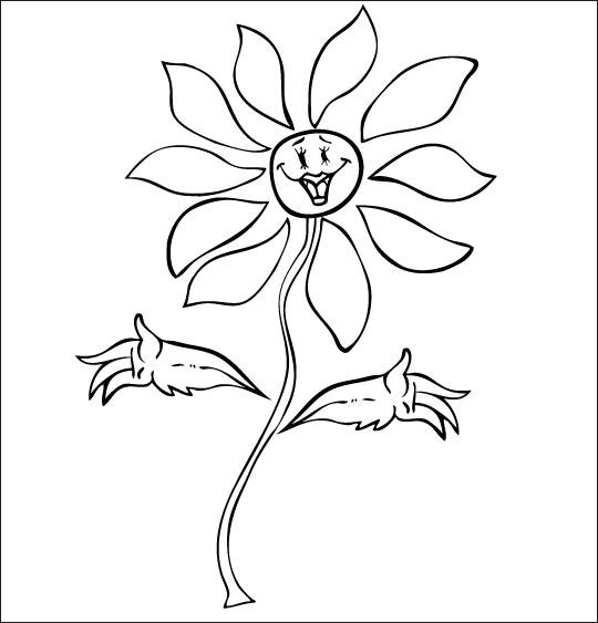 97 dessins de coloriage fleur fete des meres imprimer - Dessin de fleur facile ...