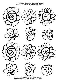 98 dessins de coloriage Fleur Ps à imprimer