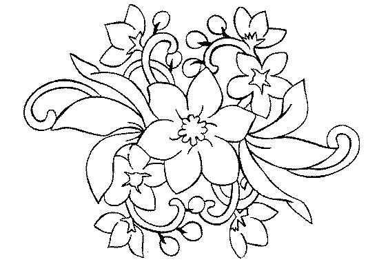 Coloriage dessiner belle fleur - Belle fleur a dessiner ...