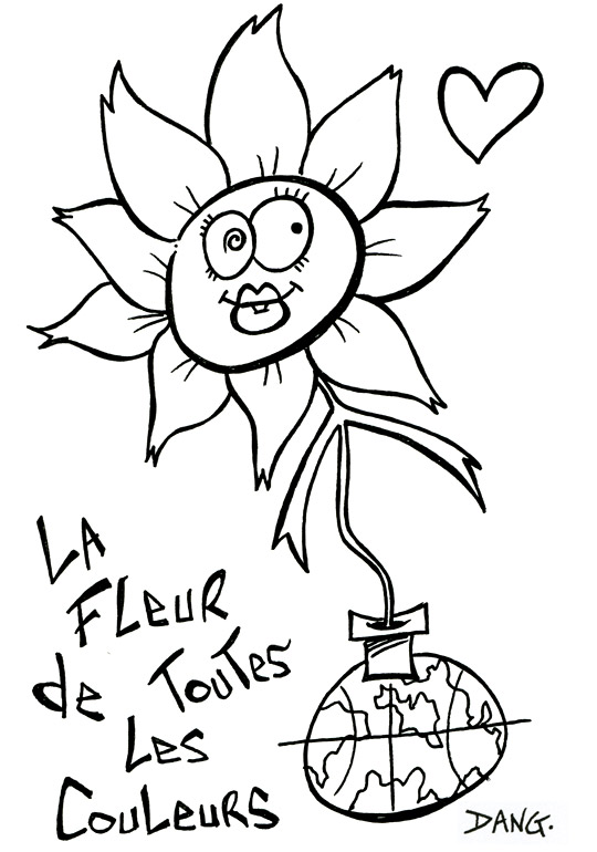 Coloriage mandala fleur de vie - Coloriage fleur imprimer ...