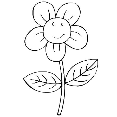 Coloriage fleur en pot - Fleur en dessin ...
