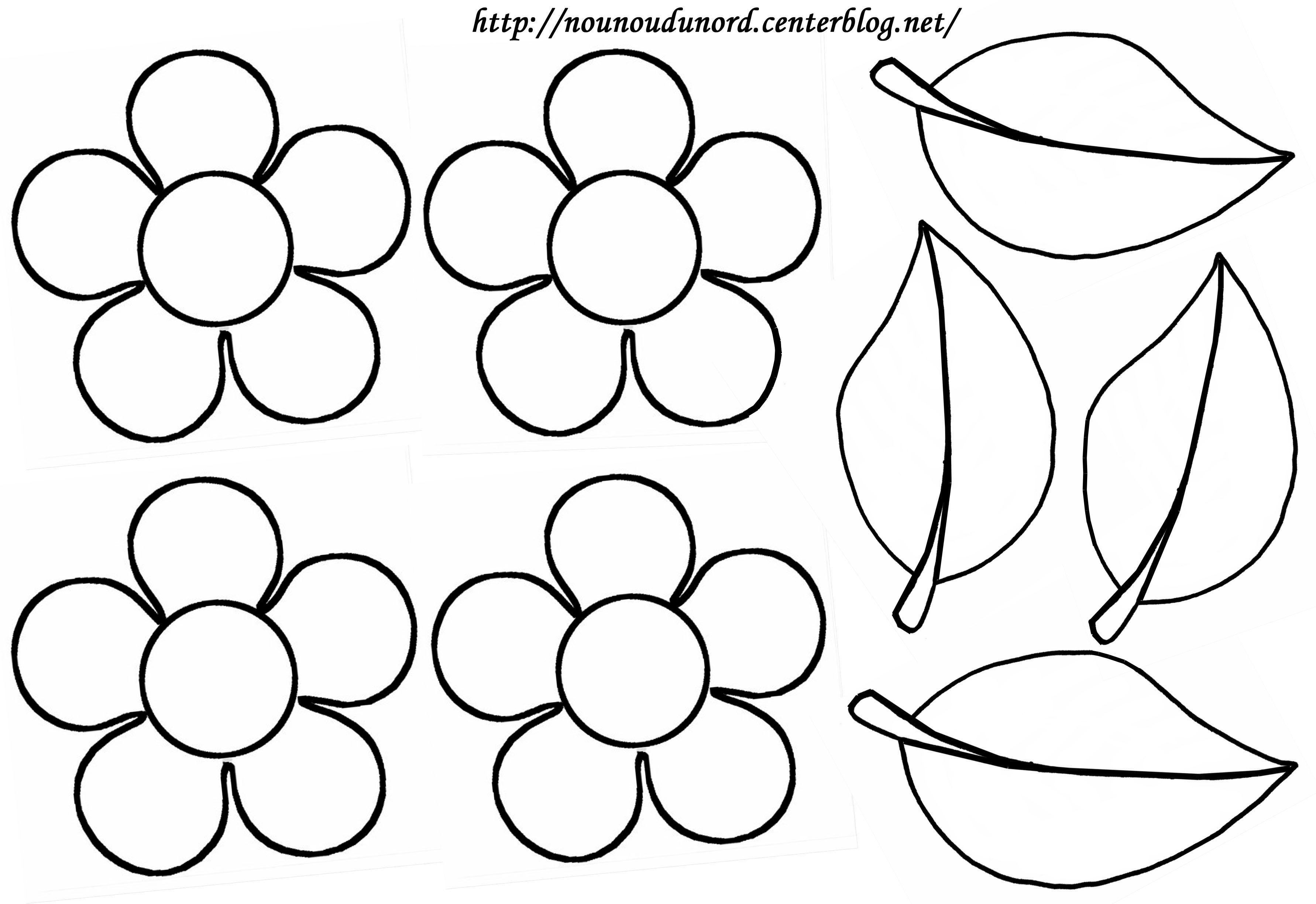 dessin fleur à imprimer