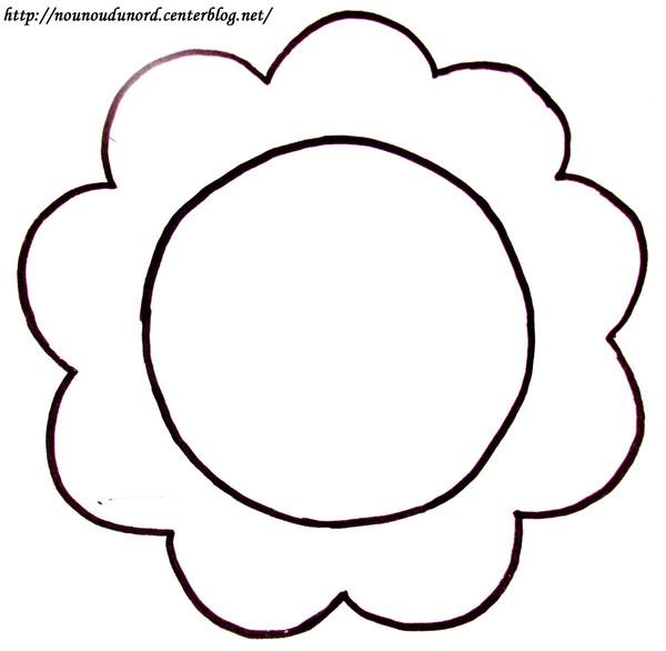 Coloriage dessiner la fleur - Fleure a dessiner ...
