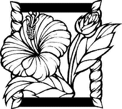 Coloriage fleur en ligne gratuit - Fleur en dessin ...
