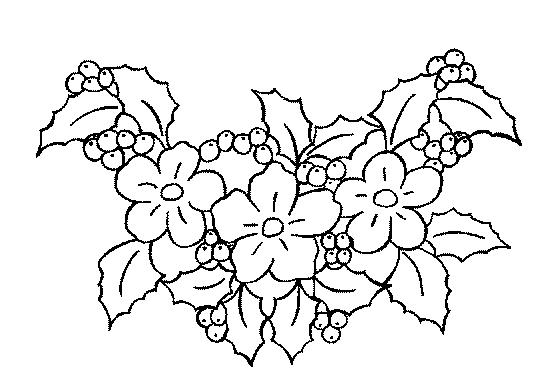 coloriage à dessiner metier fleuriste