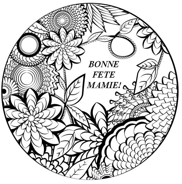 97 dessins de coloriage fleurs adulte imprimer - Imprimer des mandalas gratuit ...