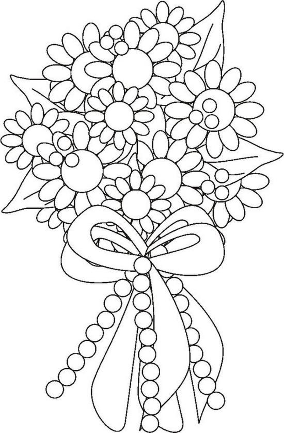 95 dessins de coloriage fleurs d 39 t imprimer for Marriage coloring pages