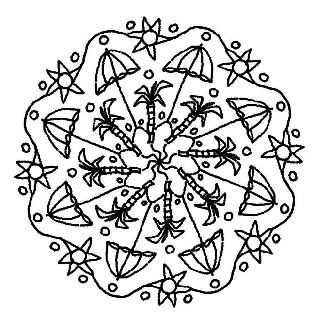 95 dessins de coloriage fleurs d 39 t imprimer - Coloriage d ete ...