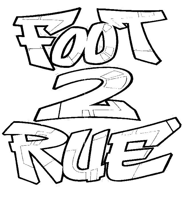 coloriage magique de foot 2 rue