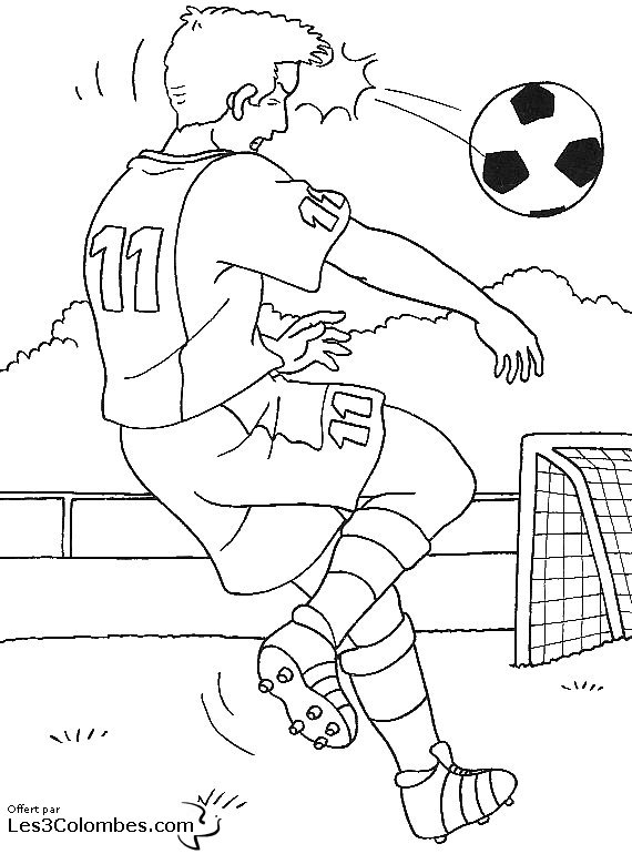 coloriage à dessiner foot madrid