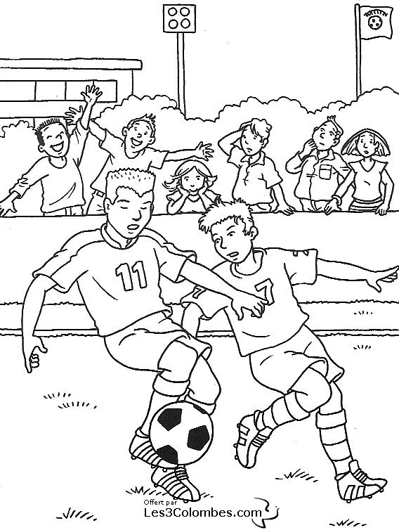Coloriage foot barca - Coloriage de foot ...