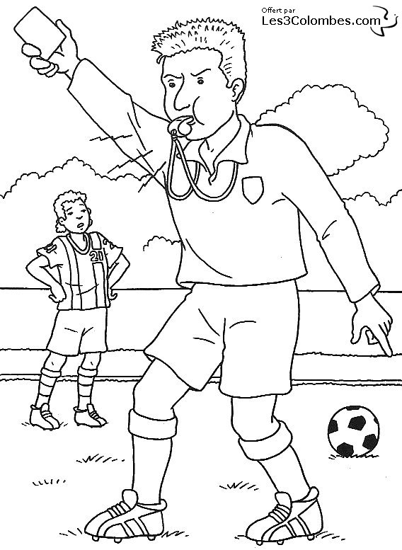 coloriage foot barca