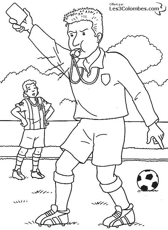 38 dessins de coloriage foot imprimer - Dessin equipe de foot ...