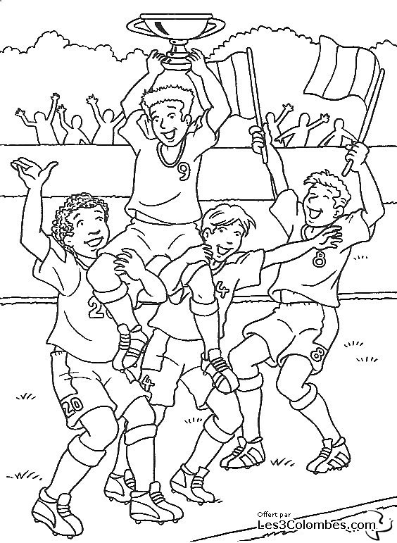 Coloriage Ecusson Foot Ligue 1