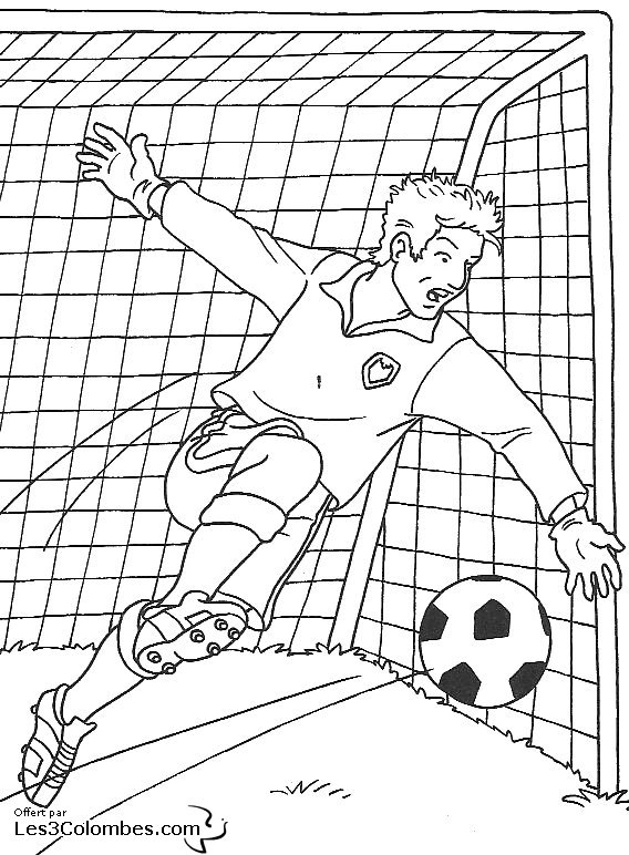 coloriage � dessiner a imprimer football americain