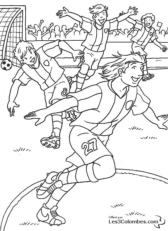 Coloriage foot dortmund - Coloriage de foot ...