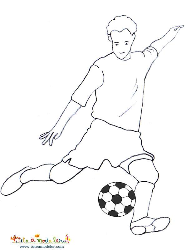 dessin à colorier foot vafc