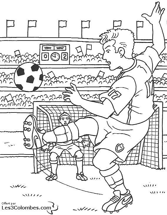 Coloriage ecusson foot ligue 1 - Coloriage de foot ...
