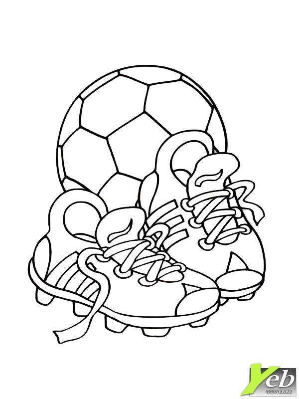 dessin imprimer foot barca