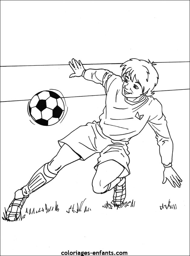 Coloriage Foot Equipe De France