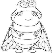 dessin la fourmi