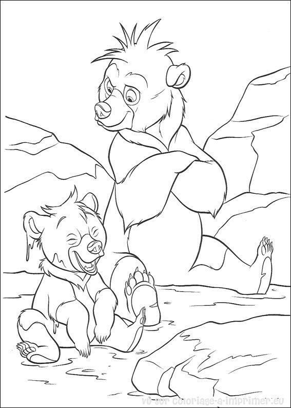 dessin freres des ours disney