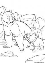 coloriage freres des ours disney