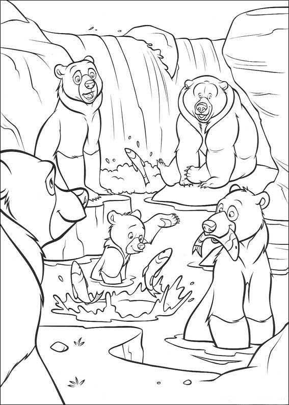 coloriage frere des ours 2