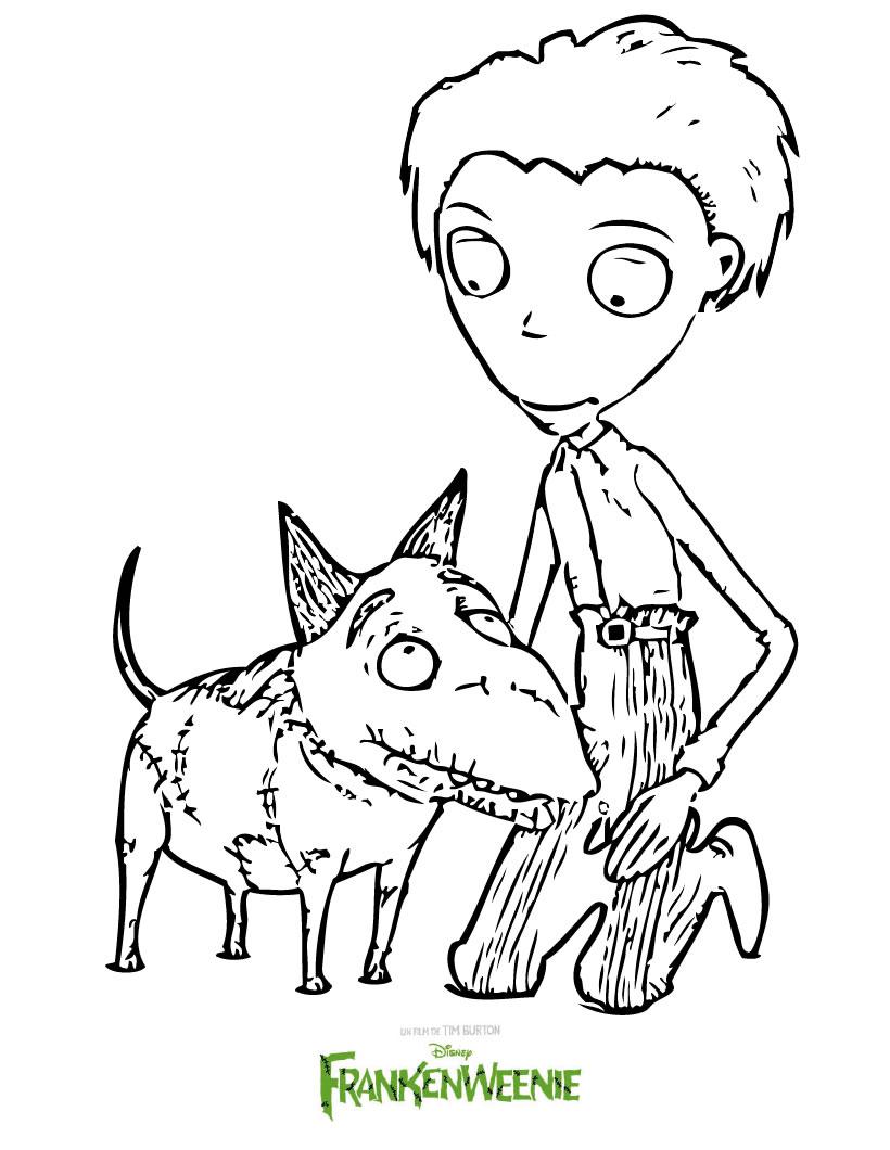 dessin de frankenweenie