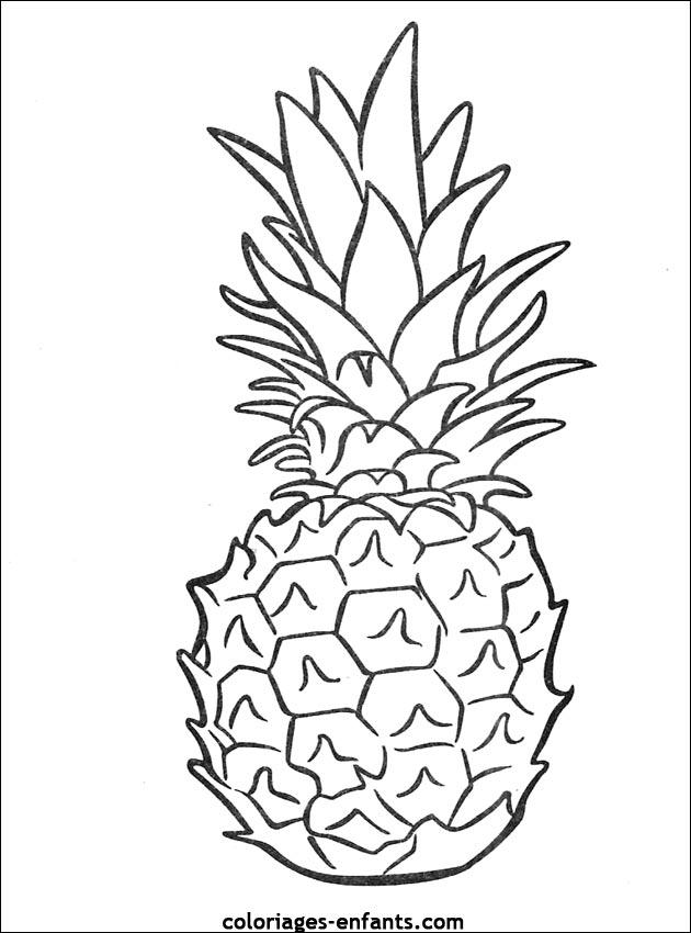 Coloriage Gratuit Fruits Legumes.Coloriage A Dessiner Fruit Et Legumes Gratuit