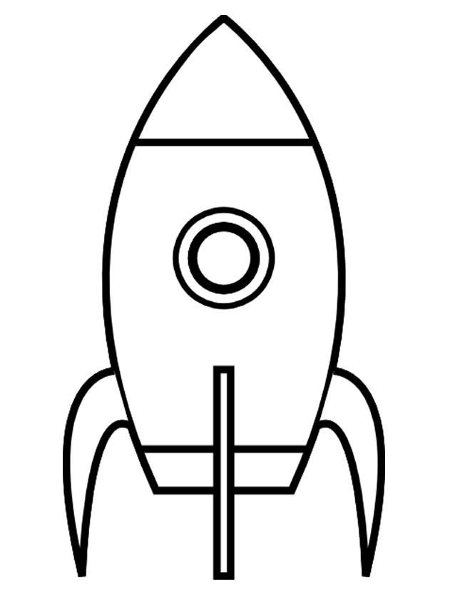 dessin de fusée espace